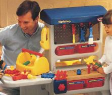 Little Tikes Workshop model #4071 is one of eleven products added to the 2009 recall.
