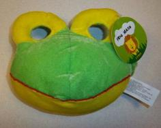 These frog masks from Target were recalled due to poor ventilation and suffocation hazard.