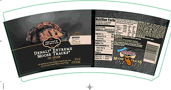 Kroger announced a recall for Private Selection Moose Tracks ice cream.