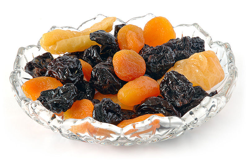 Try dried fruit as a substitute for candy; ditch the processed ingredients and extra sugar and keep the flavor.