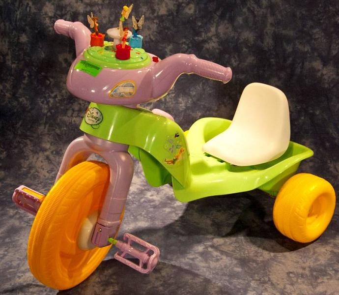 Kiddieland is recalling 12,000 Disney Fairy Princess Tricycles.